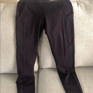 Navy Lululemon Leggings w Pockets